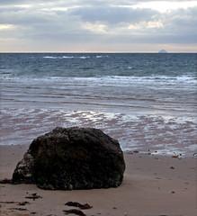 Beach and Two Hills (wheehamx) Tags: digital fuji f30 west kilbride seamill