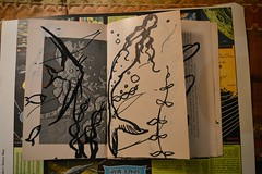 sea (Danny W. Mansmith) Tags: workinprogress artistbook drawings dannymansmith improvisational quick gestural time hope art