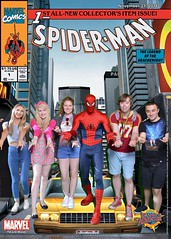 Florida 2016 (Elysia in Wonderland) Tags: universal studios spiderman islands adventure meet greet character lucy pete becca clinton orlando florida holiday 2016 elysia