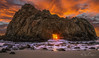 Hole of Fame (Menx Cuizon) Tags: keyholerock pfeifferbeach statepark bigsur california beach sunset water nature seascpae travel