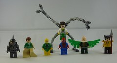 Spiderman & The Sinister Six (BrickTailor) Tags: