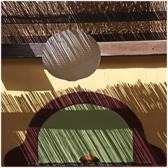 Jeu de lignes -  Line set (diaph76) Tags: grce greece santorin extrieur graphisme graphics mur wall ombres lumire shadows light luminaire lighting