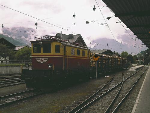 Montafonerbahn Bahnhof Schruns