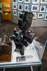 Atomic Test Cameras (Serendigity) Tags: science usa losalamos atomicbomb newmexico unitedstates museum bradbury display