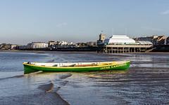 The Jayne Campbell (martingrant58) Tags: burnhamonsea jaynecambell gig cornishpilotgig boat rowing pier uksshortestpier december eos7d