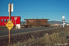 Metaphor for the Obvious (C.P. Kirkie) Tags: southernpacific sp spmodocline modocline modoc klamathcounty klamathbasin oregon caboose railroads trains