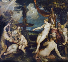 Diana and Callisto (lluisribesmateu1969) Tags: 16thcentury mythology onview titian kunsthistorischesmuseumwien vienna