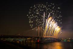 Tilikum Crossing - PDX (gappman) Tags: bridge portland fireworks sony nightscapes tilikumcrossing