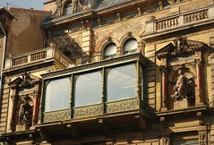 Mai's Sunlight studio in the morning sun (elinor04 thanks for 25,000,000+ views!) Tags: street morning windows light summer building art architecture painting studio photography ceramics iron photographer shadows budapest statues style mai chemistry frame castiron utca architects fresco eclectic sculptor nay atelier hungarian frescos 1894 attributes zsolnay maiman maimanohouse terzvros mterem nagymez maimano maimanhz strausz neorenassaince fresk rna pyrogranite sunlightstudio naysstrausz nayrezs strauszmuki rnajzsef maimanstudio