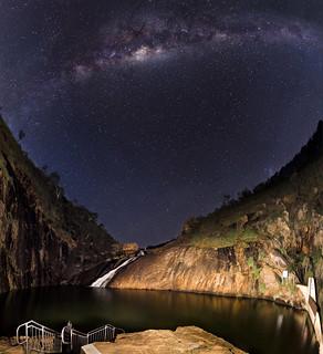 Serpentine Falls Panorama - Western Australia