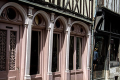 Rue Damiette / Damiette street - Rouen - France (christian_lemale) Tags: houses france architecture nikon maisons rouen normandie halftimbered colombages halftimberedhouses d7100