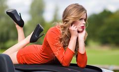 Perrylee VI (philnmorgan) Tags: girl car model 911 convertible porsche cabriolet 997