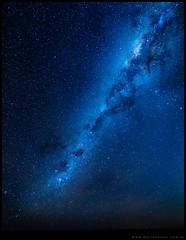 Vía Láctea en meseta del Cuy