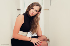 Lisa.D. By Corsu. (By Corsu) Tags: boss red portrait woman girl face by canon rouge eos hotel women legs corse room femme corsica young motel teen u 2cv jupe piece chambre fille pantyhose nylon jambes visage teenage charme 6d hôtel 14yo corsu 0021 liamone