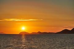 Sunset off Dubrovnik (mark_mullen) Tags: cruise sunset seascape landscape island evening relaxing croatia serenity serene hr dubrovnik adriaticsea karaka lokrum babinkuk dubrovnikneretvacounty canoneosm canon1855stm 16thcenturywoodenship