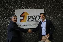 José Matos Rosa na Inauguração Sede PSD Vinhais