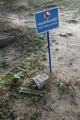 A reminder of where you are (judithbluepool) Tags: cambodia bones phnompenh massgrave choeungek killingfield