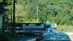 Crossing Route 312 (blazer8696) Tags: 2015 brewster dscn9136 dykemans ecw harlem locomotive metonorth metro mncr mta newyork north ny railroad t2015 unitedstates usa 115 bl20gh rteny312