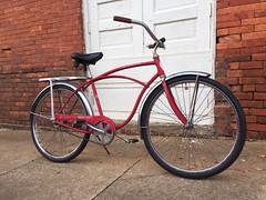 Barney's Shakedown (The Goat Whisperer) Tags: old bike bicycle vintage 1968 schwinn heavy duti