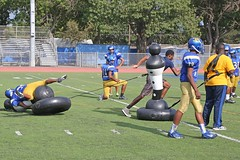 D133297A (RobHelfman) Tags: sports losangeles football highschool practice shadowman crenshaw