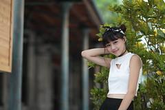 Patty002 (greenjacket888) Tags: portrait cute beautiful asian md leg lovely patty  leggy          asianbeauty   85l  85f12  beautyleg  5dmk 5d3
