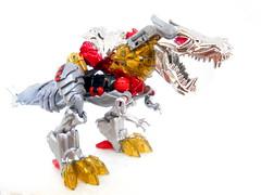 Grimlock dinosaur mode (Homicide_Crabs) Tags: me king dinosaur transformers g1 platinum exclusive dinosaurs trex tyrannosaurus autobots sdcc tyrannosaur dinobot grimlock dinobots