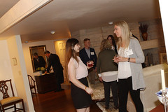 Chancellor's Holiday Art Scholarship Reception, Chancellor's residence, September 24, 2015