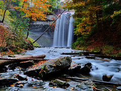 decew falls (Rex Montalban Photography) Tags: autumn waterfalls hdr decew neutraldensityfilters rexmontalbanphotography
