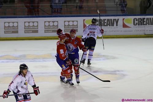 LHC Les Lions 4-2 Brûleurs de Loups de Grenoble, Coupe de la Ligue, 22/09/2015