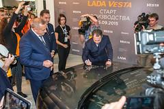 IMG_0911 (LADA SOCIAL TEAM) Tags: cars car design vehicle brand lada vesta gooddesign russiancar googlephotos goodcar newmodel avtovaz boandersson ladavesta vestart vestacar