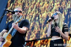 Lily Meola w/ Jamey Johnson - Farm Aid 30, 2015 (Crumblin Down) Tags: charity musician music chicago color colors rock set out island photography photo illinois concert lily farmers stadium alt farm sold stage brian country johnson indiana away it mickey il give event aid singer roll pavilion benefit fans jamey raphael legend pavillion alternative songwriter bruner meola northerly firstmerit