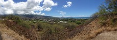 Panaromic view of the eastern side of Maunalua Bay and Hawai'i Kai from Kahala Tunnel (procrast8) Tags: island hawaii bay oahu head tunnel kai hi honolulu hanauma koko portlock leahi kahala maunalua