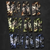 Camouflage and Grunge Text Styles (martin_emes) Tags: texture metal danger america photoshop stars army effects war pattern action stripes painted military grunge patriotic games gritty dirty camouflage layer videogame material computergame destroyed realistic