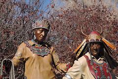 Santa Fe - Indian Art (Drriss & Marrionn) Tags: travel santafe art outdoor roadtrip american sculptures americannative santafenm artindian newmexicousaartartsart workgalleriesart galleriessculpturenative