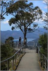 Boroka Lookout and Lake Bellfield (florahaggis) Tags: sky clouds nationalpark bush rocks australia victoria waterfalls mckenziefalls grampian thebalconies borokalookout reedslookout brokenfalls
