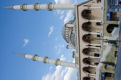 Konya - Haci Veys Zade Mosque 7 (Le Monde1) Tags: park lake turkey pond nikon islam mosque sultan turkish dervish anatolia moslem whirlingdervishes culturalpark kltr sinanpasha d7000 lemonde1 hasanpasha haciveyszade sultanahcaddesi fatmahtun