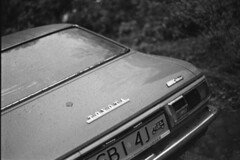 Toyota - Classic Cars (Analog World Thru My Lenses) Tags: toyota kodaktx400 ricohxr7 rikenon50mmf17