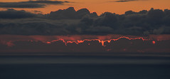 Hunting for the Silver Lining (ArneKaiser) Tags: sunset sky panorama weather clouds hawaii unitedstates dusk maui kula silverlining mauicollection