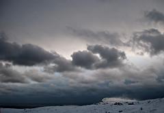 Snfyke p Nlsoy (Jan Egil Kristiansen) Tags: winter snow seascape horizon faroeislands nlsoy img2476 groundblizzard jarrok snfyke