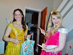 Halloween Princess Ball (Elysia in Wonderland) Tags: pink sleeping halloween beauty yellow ball dress princess events disney aurora belle marvellous 2015