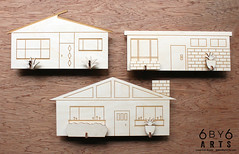 6by6Arts_PopUpVillage11 (thea superstarr) Tags: wood houses holiday modern century village handmade birch kit popup maker pnw mid midcenturymodern madeinusa mcm lasercut laserengraved 6by6arts