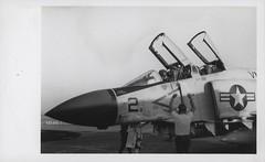 J.R. Braddon Shuts Down His F-4J Phantom Jet, 1969 (Marine Corps Archives & Special Collections) Tags: marine war jonathan vietnam corps marines abel