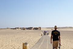 Walking Towards Tuna el-Gebel (plingthepenguin) Tags: egypt tunaelgebel