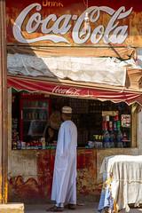 Drink Coca-Cola! (Hector16) Tags:  dahabiyadream  egyptology nile aswan sailing   egypt boat souq  dahabiya northafrica aswangovernorate eg