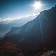 Rohtang Pass (Surendra Rajawat) Tags: trip travel light sun india nature clouds landscape tour pentax earth pass rays himalaya manali himachal himachalpradesh rohtang pentaxart