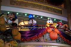 """Goofy, Donald, Pluto, Chip and Dale at Mickey's Mouse-querade Party • <a style=""""font-size:0.8em;"""" href=""""http://www.flickr.com/photos/28558260@N04/23045293232/"""" target=""""_blank"""">View on Flickr</a>"""