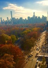 Calm before the big big thanksgiving parade (dannydalypix) Tags: newyorkcity centralpark manhattan gothamist gotham centralparkwest thanksgivingparade