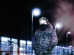 Antti (tropeone) Tags: portrait 50mm december darkness bokeh antti nummela vihti vsco vscofinland