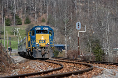 Santa Train North Boody  St. Paul, Va.- (Vince Hammel Jr) Tags: railroad trains csx clinchfield