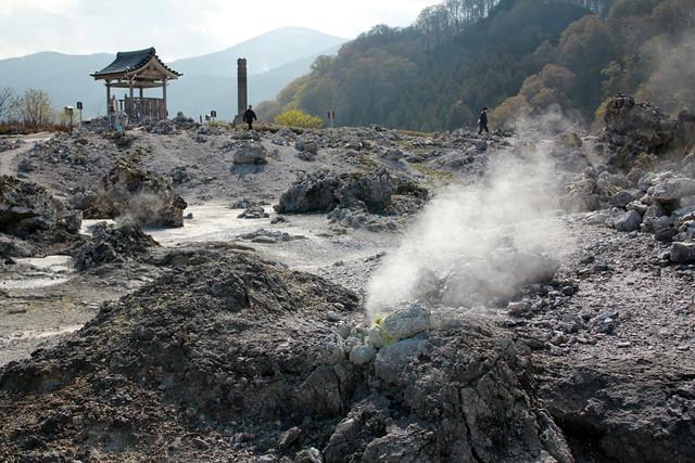 恐山菩提寺で日本の霊場を体験の写真